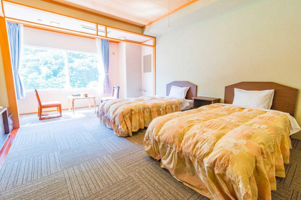 小樽市朝里川温泉 ホテル武蔵亭 洋室