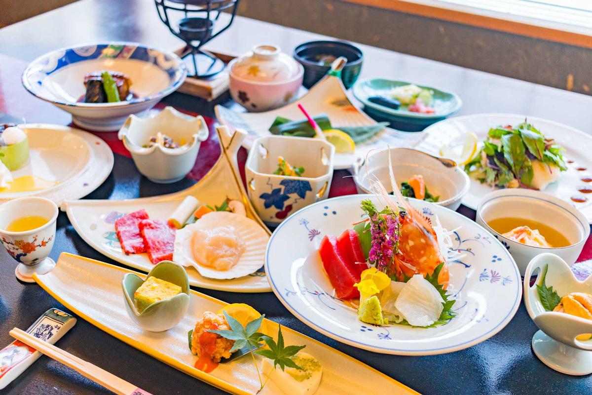 ホテル武蔵亭 料理