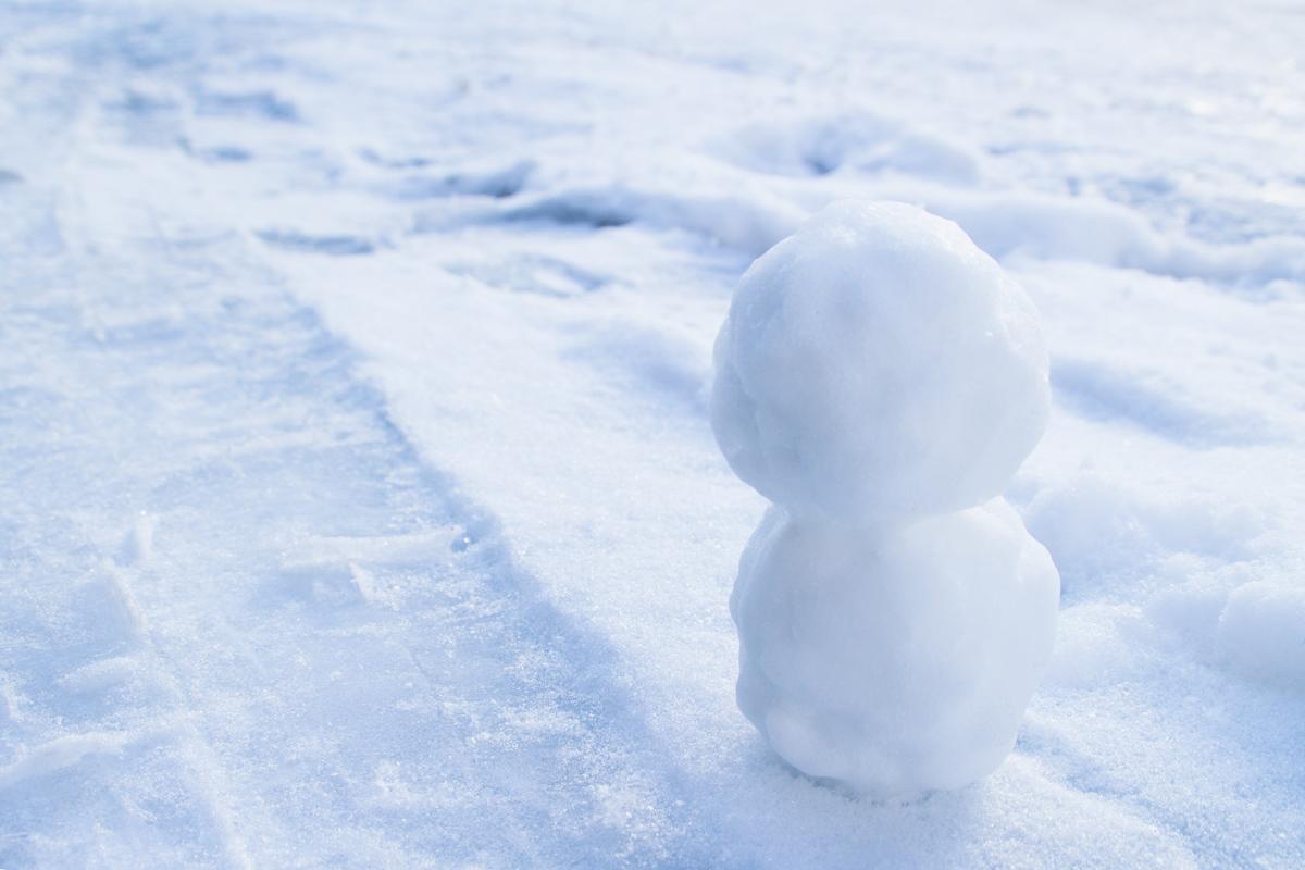 小樽 雪だるま