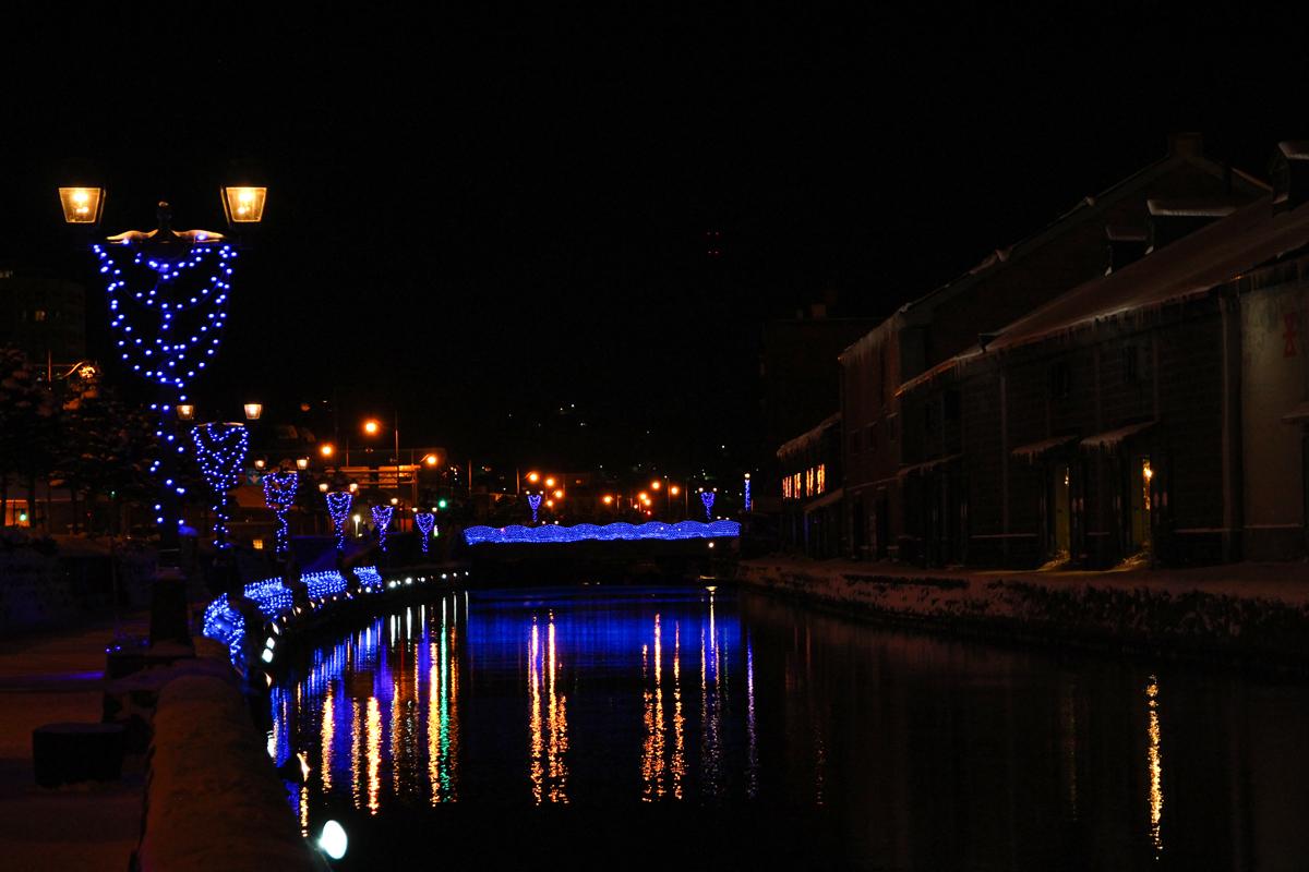 小樽 青の運河